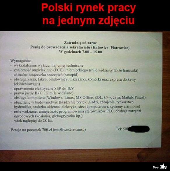Polski rynek pray