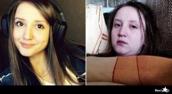 Nie ufaj nigdy dziewczynom w makijażu i profilówkom na FB