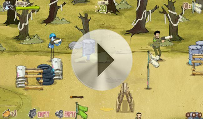 Zwyczajny serial gry jeja combat