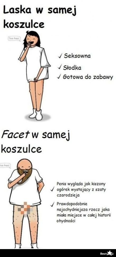 315d643cf49c68 BESTY.pl - różnica między facetem i kobietą