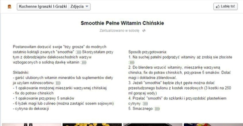 Besty Pl Smoothie Z Przypraw I Rutinoscorbinu Xd