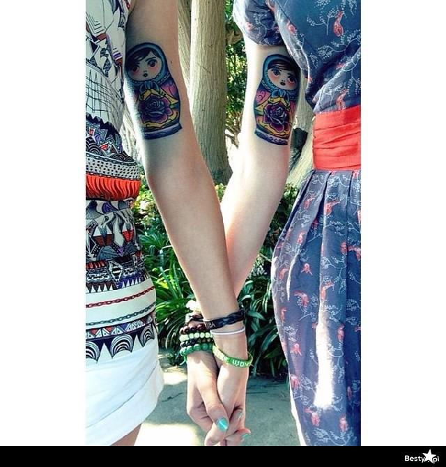 Bestypl Tatuaże Przyjaźni Które łączą Ludzi Na Całe życie