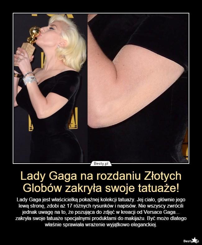 Bestypl Lady Gaga Na Rozdaniu Złotych Globów Zakryła