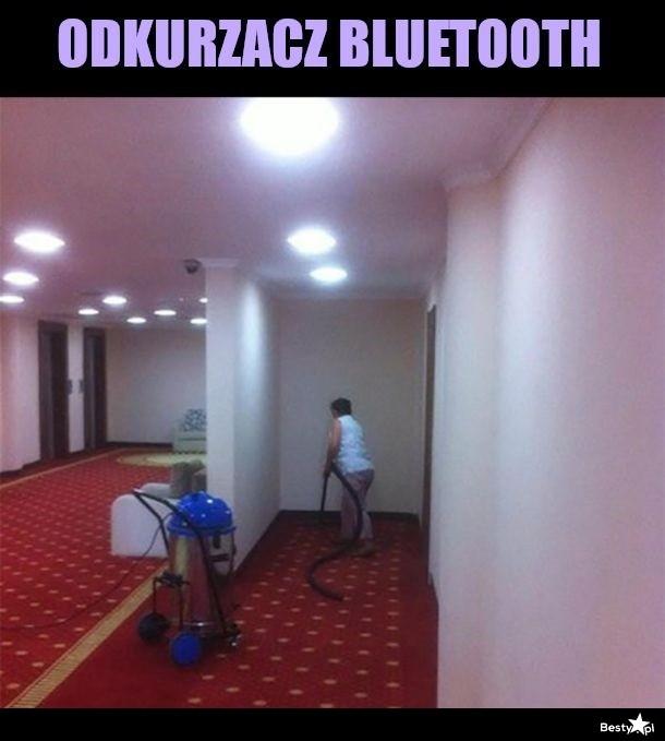 Odkurzacz bluetooth