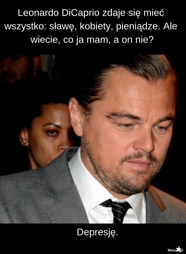 Czego nie ma Leonardo DiCaprio?