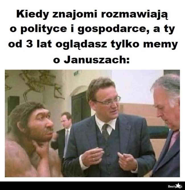 Memy o Januszach