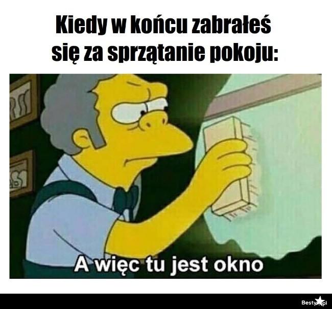 BESTY.pl - Kiedy w końcu zabrałeś się za sprzątanie pokoju
