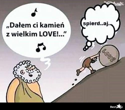 Besty Pl Kamien Z Wielkim Love Xd