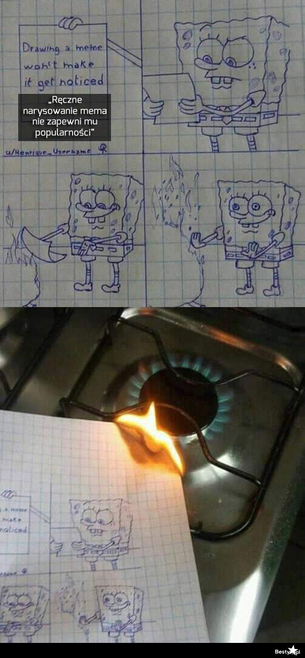 Ręcznie narysowane memy