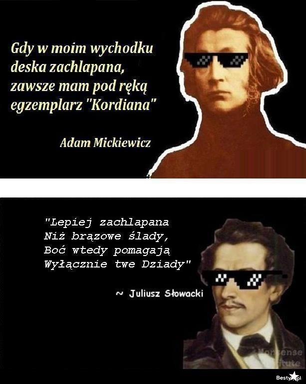 Mickiewicz vs. Słowacki