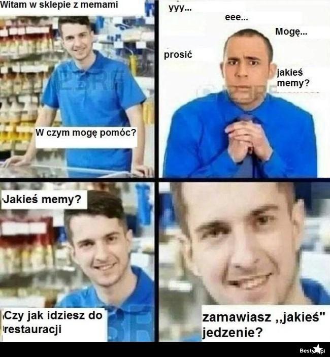 W sklepie z memami