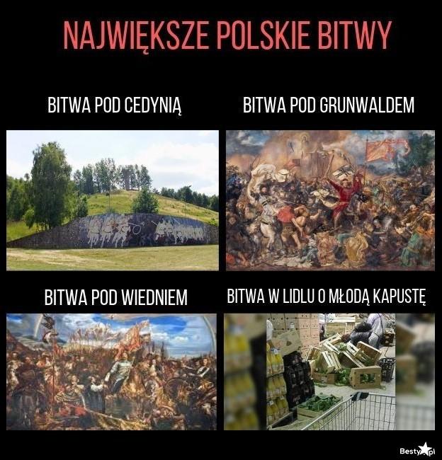 Największe polskie bitwy