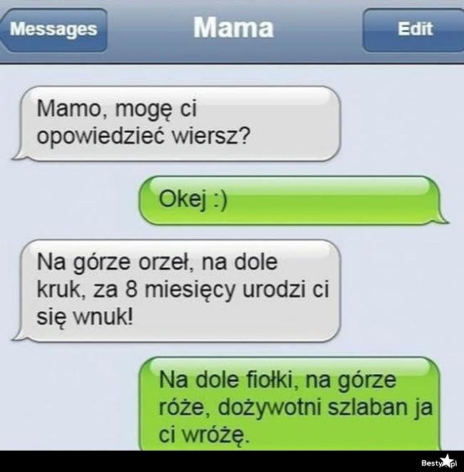 Bestypl Wierszyk Dla Mamusi D