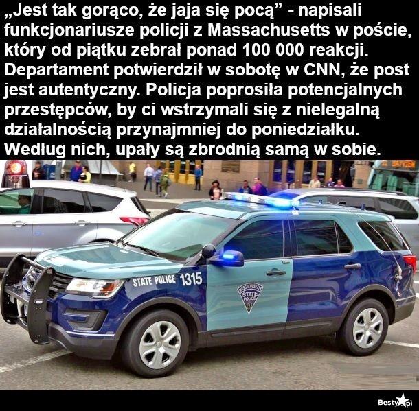 Prośba od policjantów