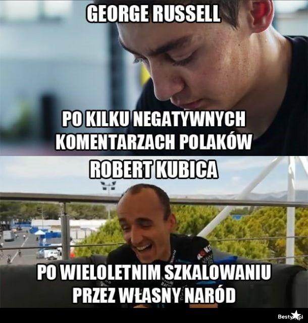 George Russel vs Robert Kubica