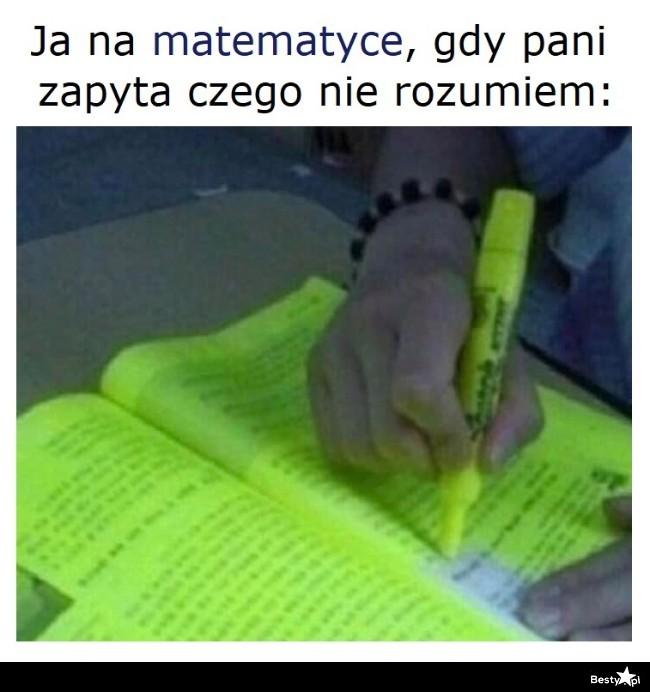 Na matematyce