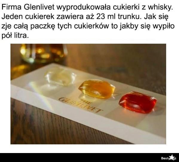 Cukierki z whisky