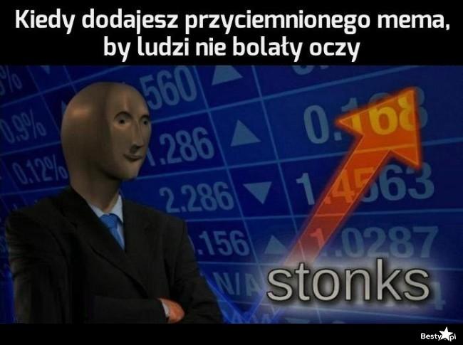 Przyciemniony mem