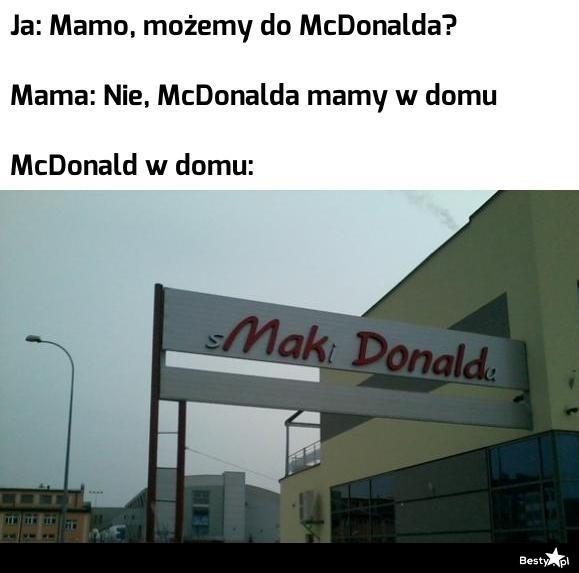 McDonald w domu