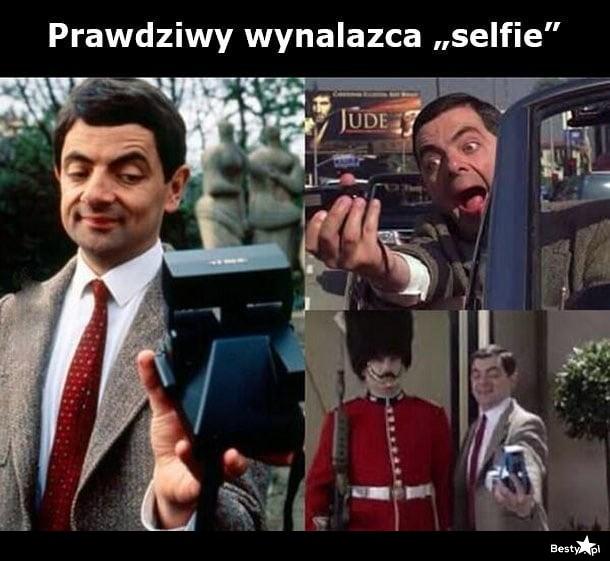 Prawdziwy wynalazca selfie