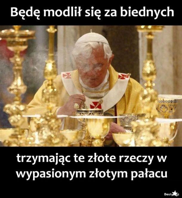 Modlitwa za biednych...