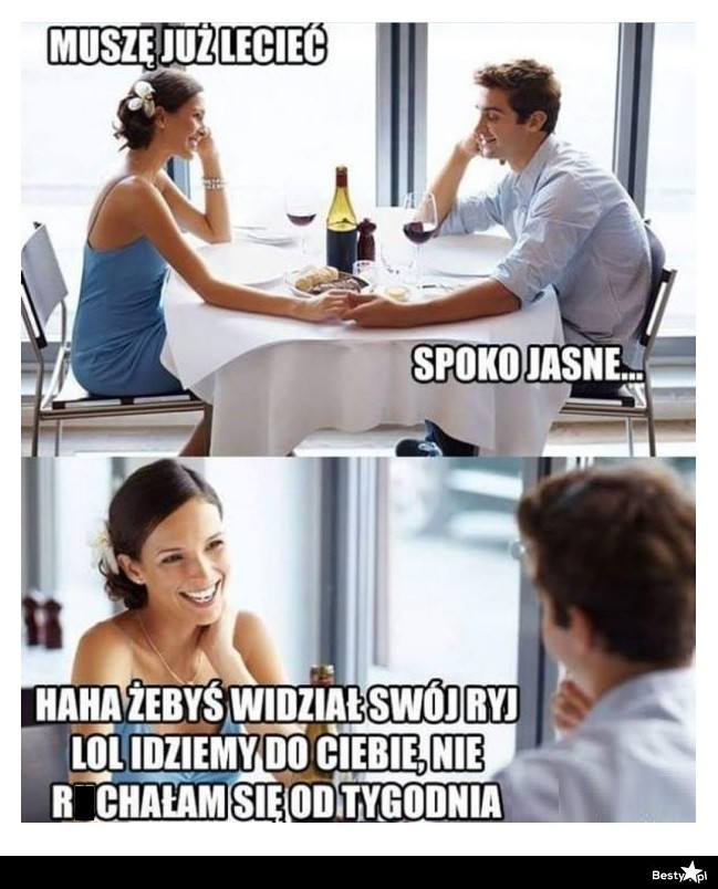 Randki to fajny mem