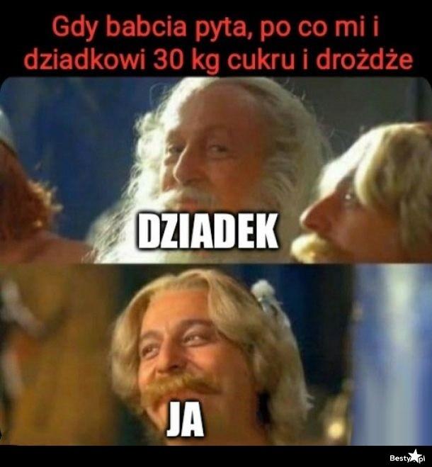 Kiedy babcia pyta...