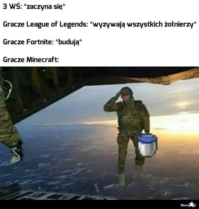 Gracze Minecraft