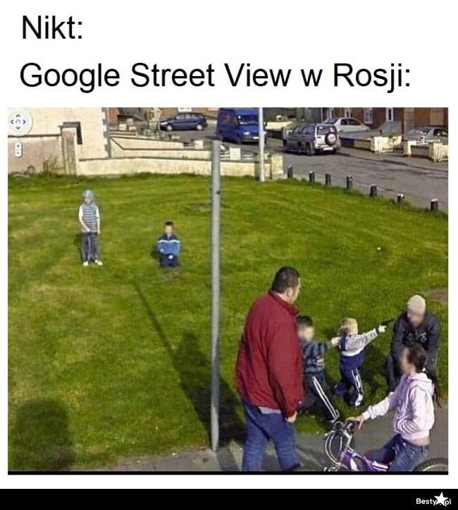 Google Street View w Rosji: