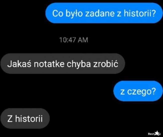 Zadanie z historii :D