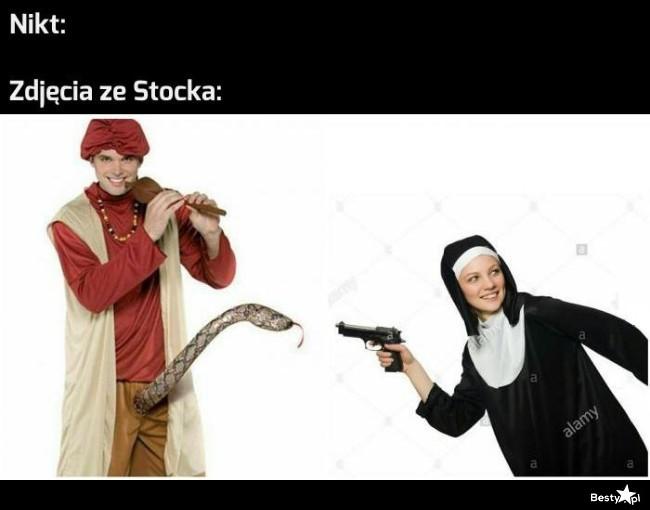 Zdjęcia ze Stocka