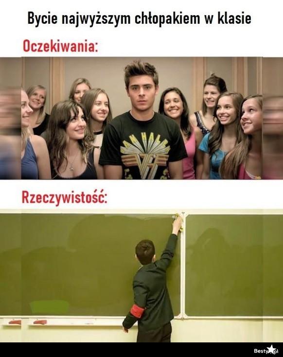 BESTY.pl - Bycie najwyższym chłopakiem w klasie