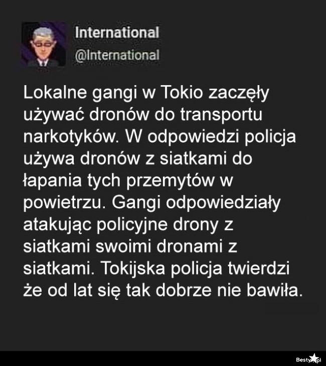 Lokalne gangi w Tokio