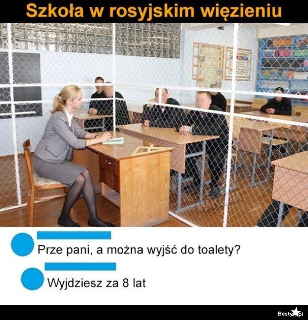 Szkoła w rosyjskim więzieniu