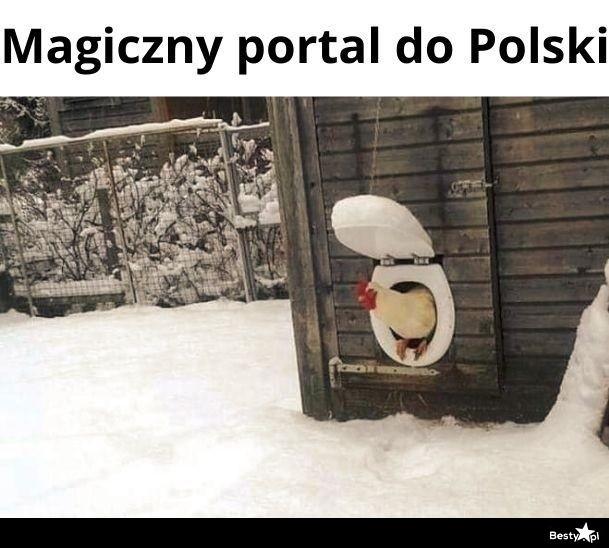 Magiczny portal do Polski